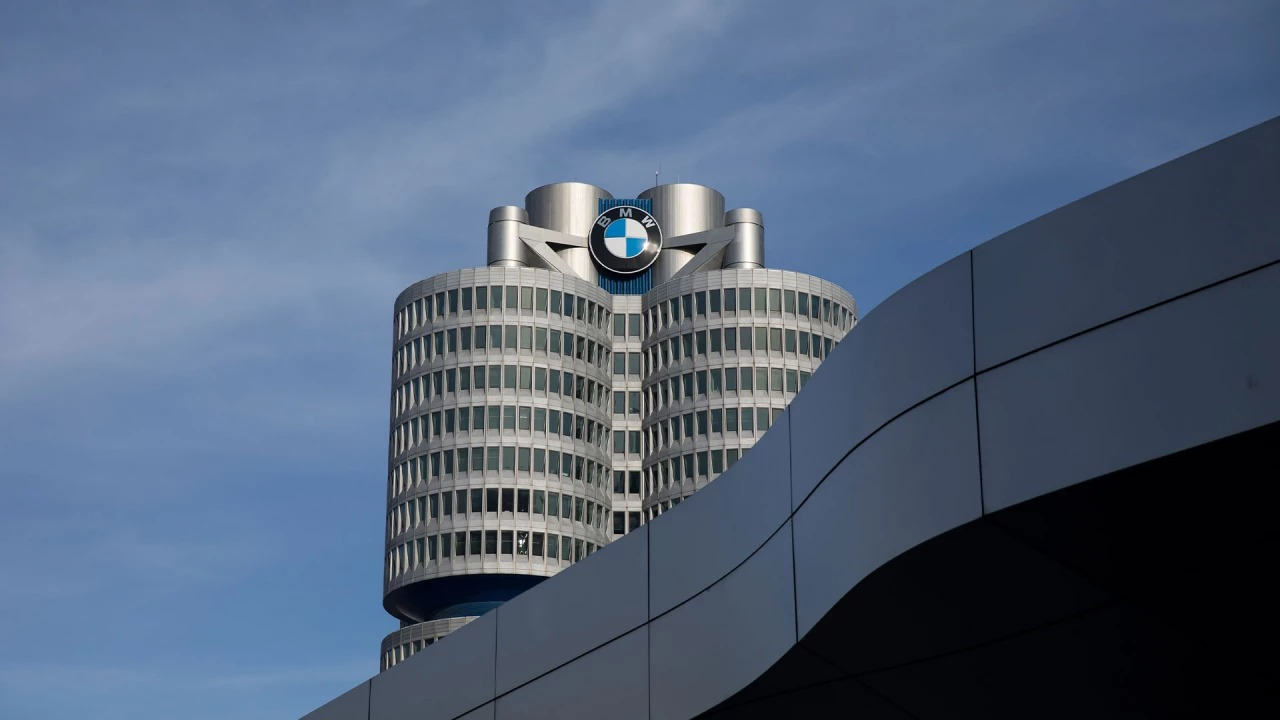 Image of the BMW Corporate Headquarters Building