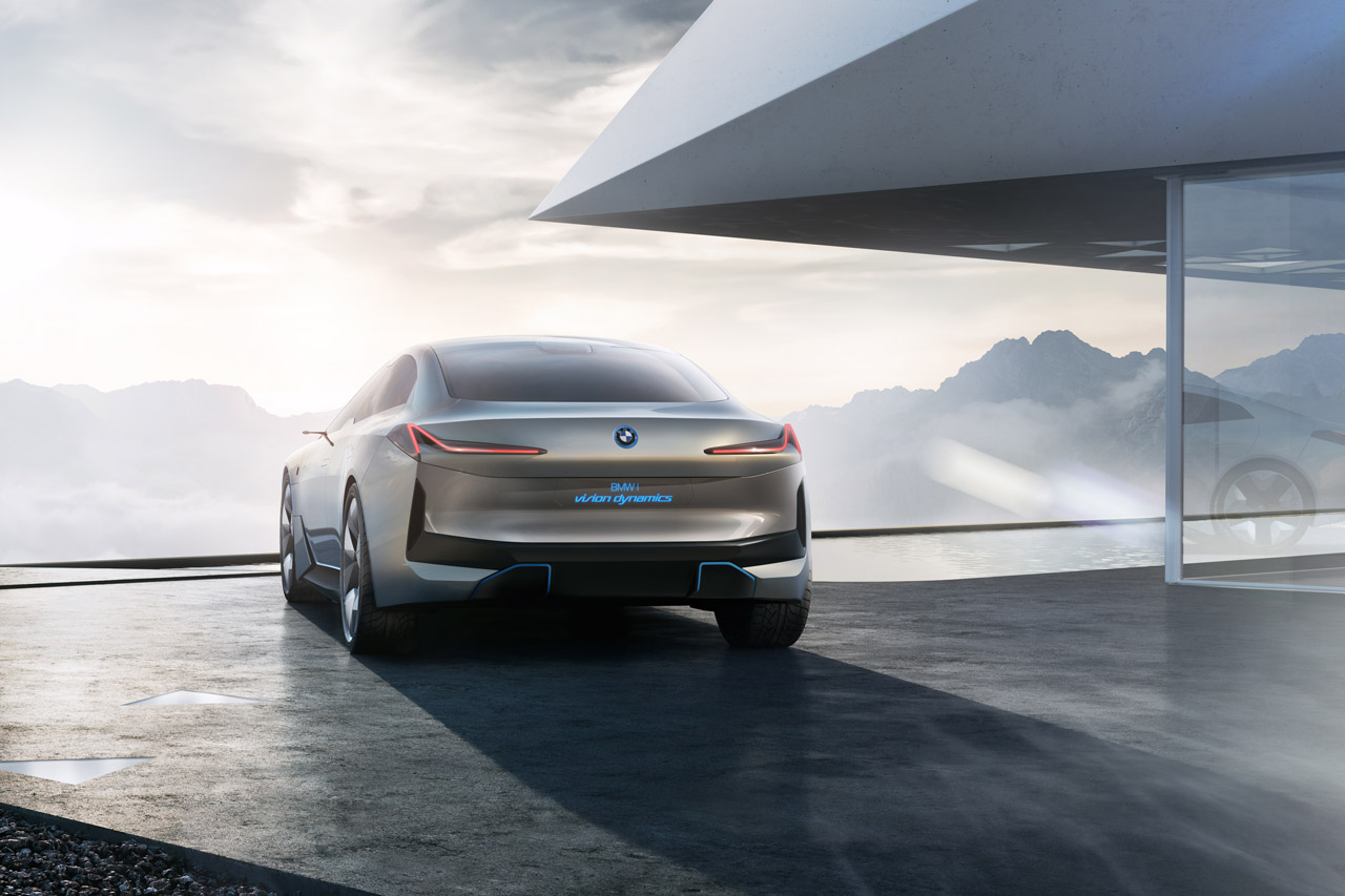 Image of a BMW iVision concept car.
