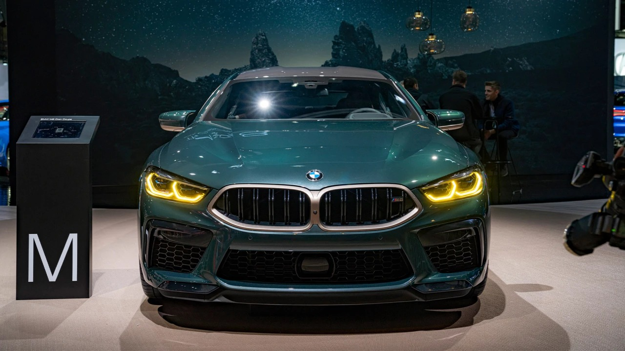 Image of The all-new BMW M8 Gran Coupé First Edition.