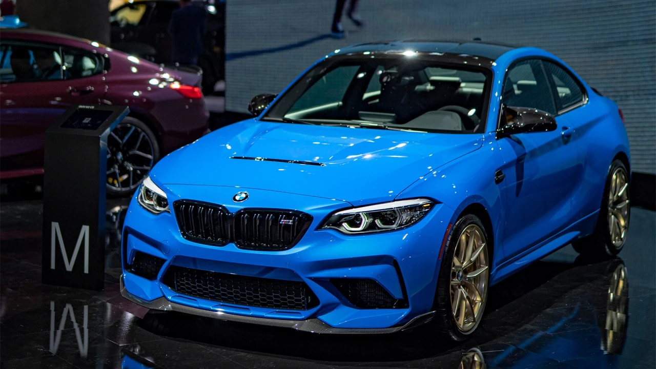 Image of The new BMW M2 CS at the LAAS 2019