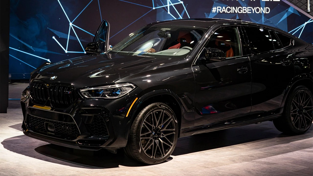 Image of The all-new BMW X6 M Competition.