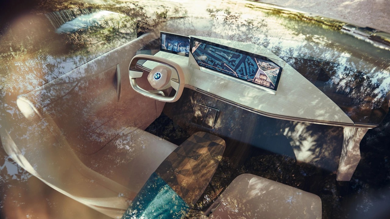 Image of a BMW Concept car dashboard