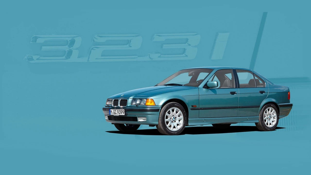 Image of a 3 Series circa 1990