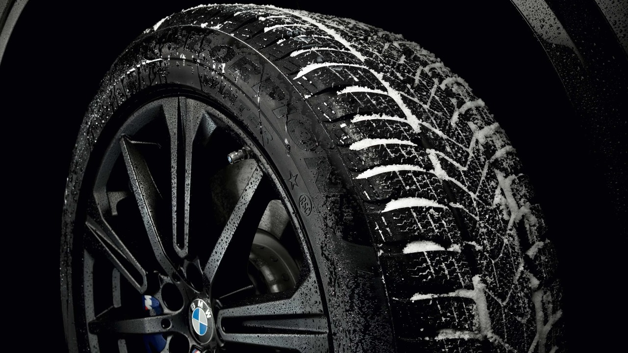 Image of a BMW Tyre.