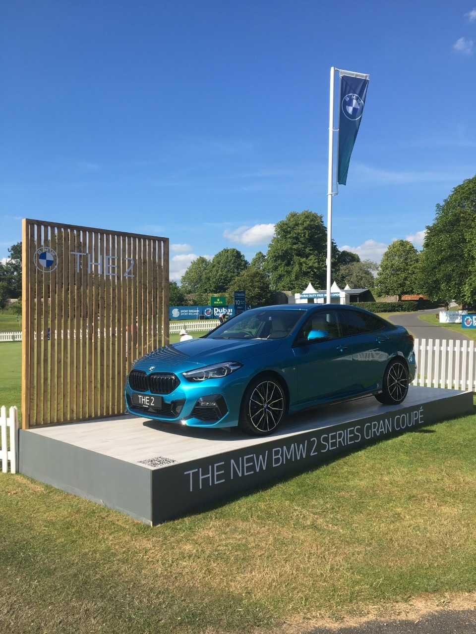 Image of a 2 Series Gran Coupe at the Irish Open