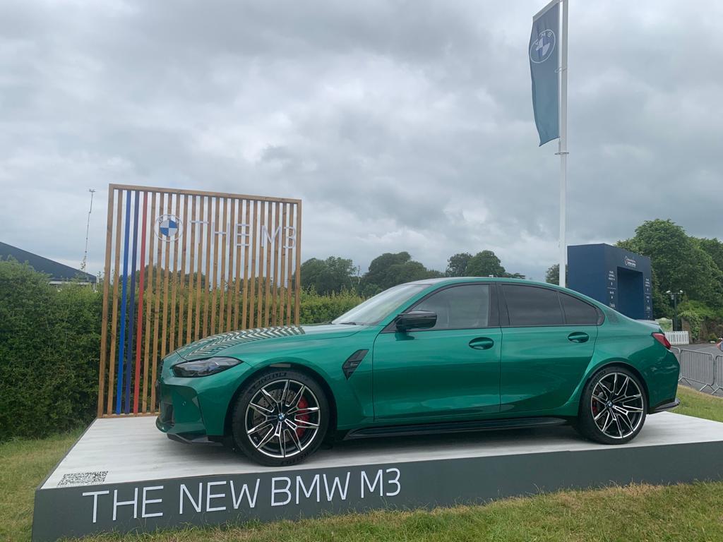 BMW M3 at the Irish Open